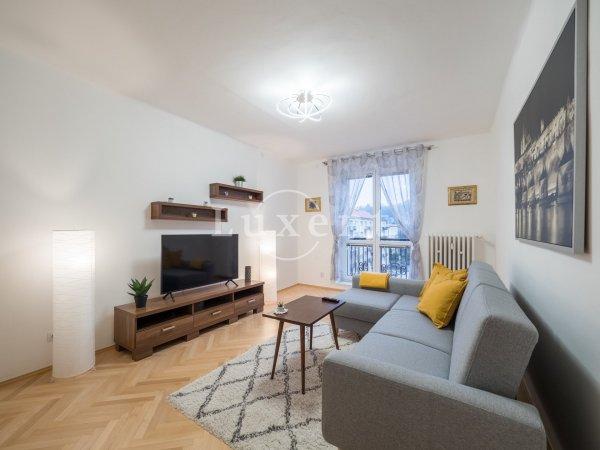 Pronájem bytu 2+1/2B, 61 m2, Praha 6 - Vokovice