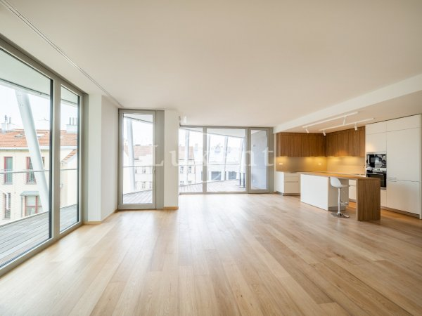 Pronájem bytu 4+kk/T/GS, 203 m2, Praha 5 – Smíchov